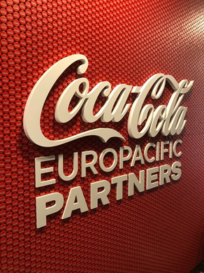 Coca-Cola | Logótipo em pvc