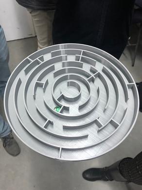 Impressão 3D | Labirinto com 60cm de diâmetro