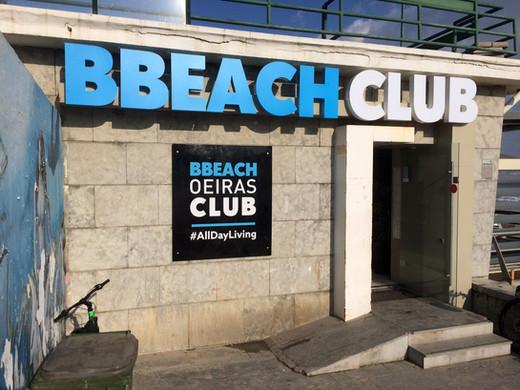BBEACH CLUB | Letras monobloco