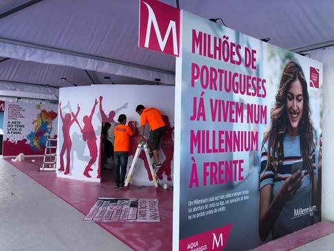 Millennium | Stand Estoril Open
