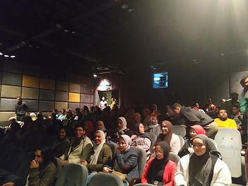 Cine4all Fest Film Screening at el hanagar cinema cairo opera house