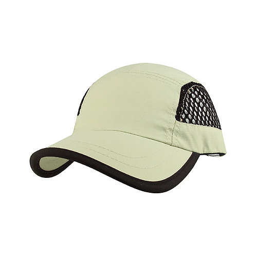J7699- Juniper Nylon Oxford and Mesh Cap