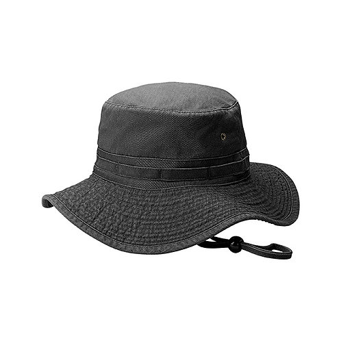7804- Washed Pigment Twill Buket Hat