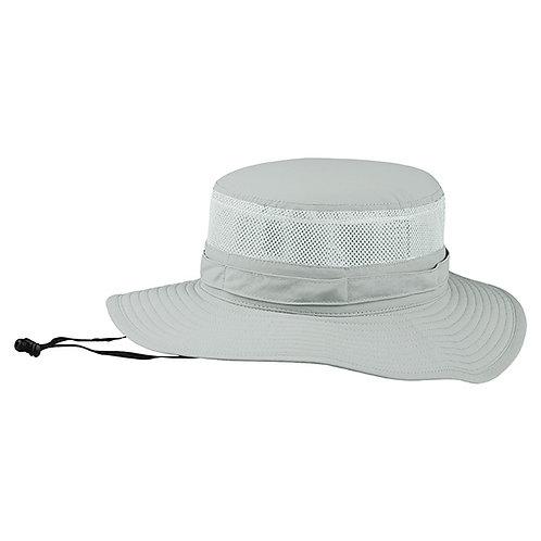 J7231- Juniper Taslon UV Bucket Hat w/ Mesh Crown