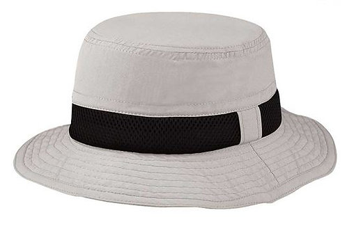 7224- Juniper Taslon UV Bucket Hat w/ Meshed Crown