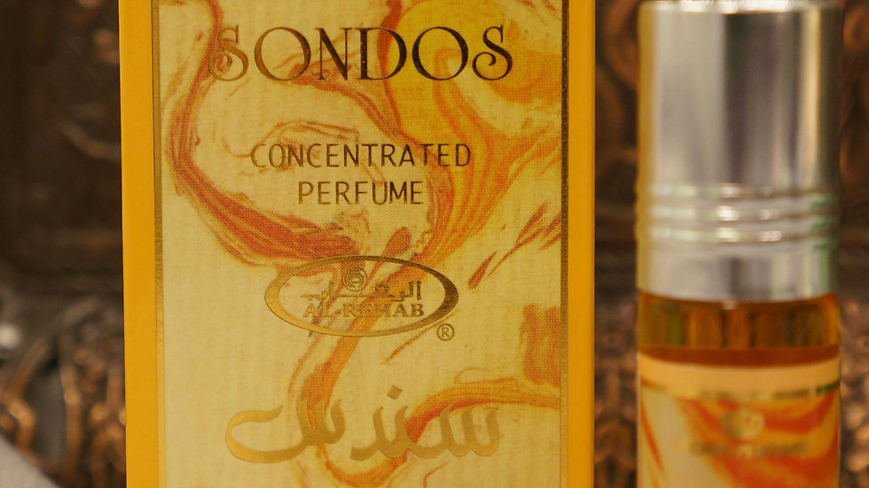 Арабские масляные духи Сондос (Sondos)