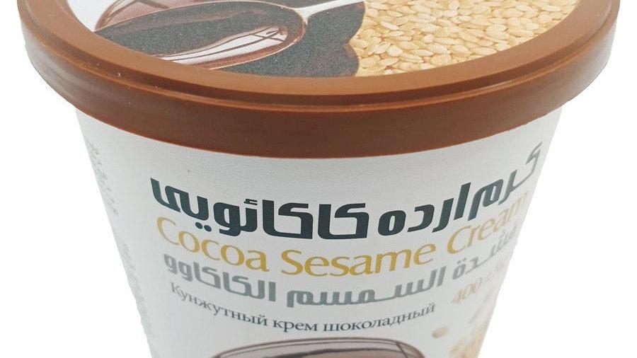 "Кунжутная паста ""Shirreza"" тахини со вкусом шоколада 200 гр. (Иран)"