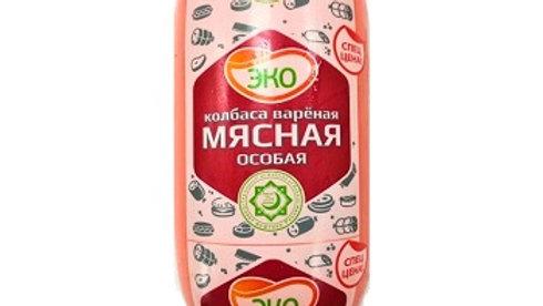 """ЭКО Вареная колбаса """"Мясная особая Халяль"""" минибатон"""