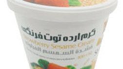 """Кунжутная паста """"Shirreza"""" тахини со вкусом клубники 200 гр. (Иран)"""