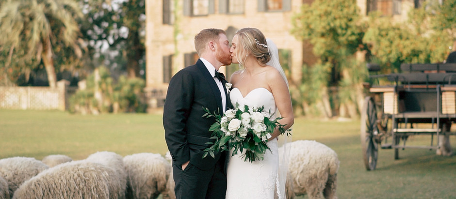 Lindsey and Anthony's Dreamy Southern Wedding at Middleton Place