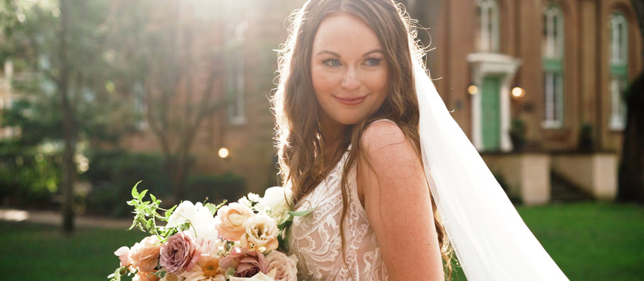 Haley and Drew's Stunning Micro Wedding / Upstairs at Midtown