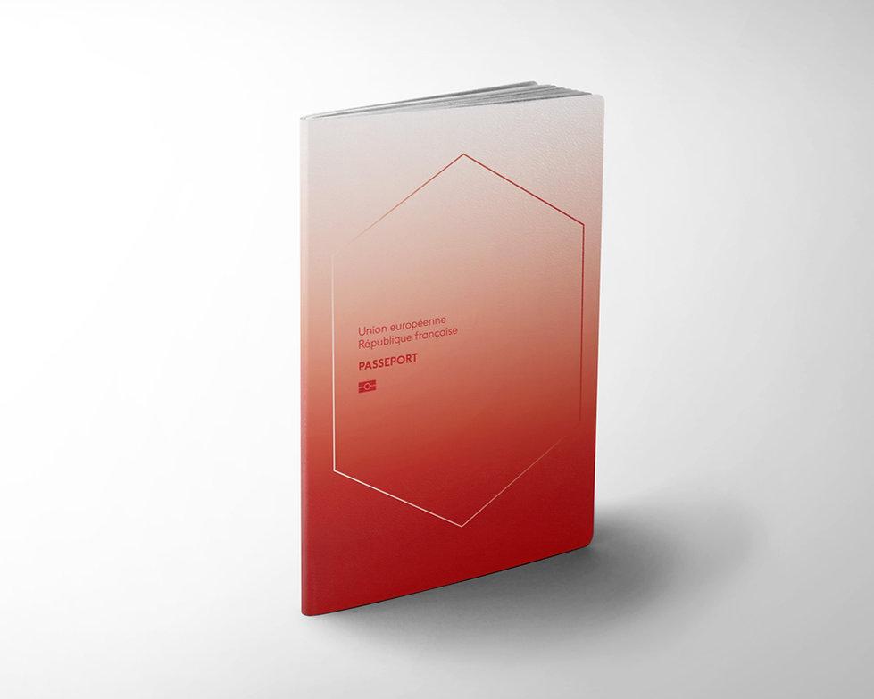 OK Passeport CLASSIQUE rouge bleu blanc