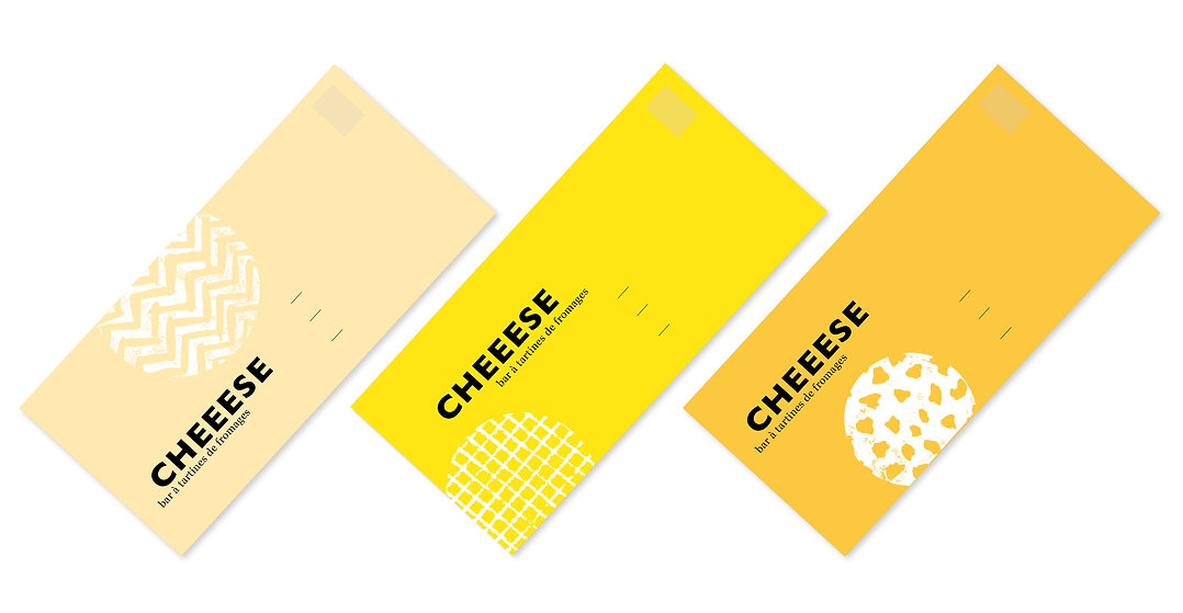 Enveloppe famille formage cheeese 3 trio
