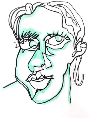 Self Portrait, Contour II