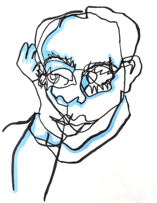 Self Portrait, Contour V
