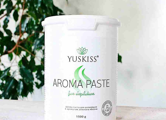 Арома-паста YUSKISS «Зеленое яблоко» 1500 гр (Soft)