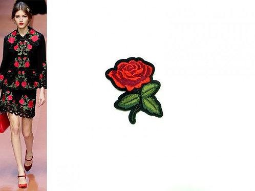 Аппликация клеевая Роза малая