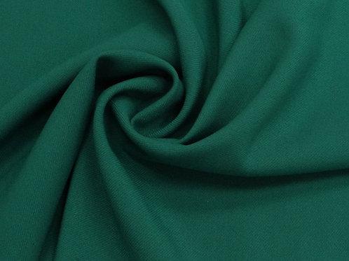 Вискоза твил стрейч темно-зеленый