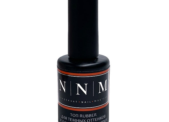 Топ Rubber для темных оттенков и для нанесения втирки NNM