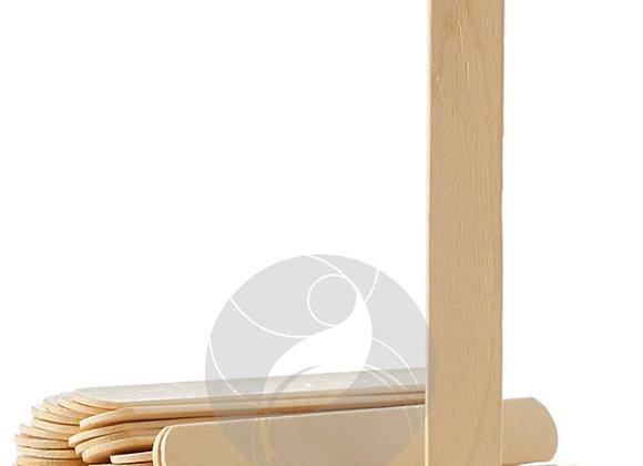 Шпатели деревянные 140х16 мм, 100 шт