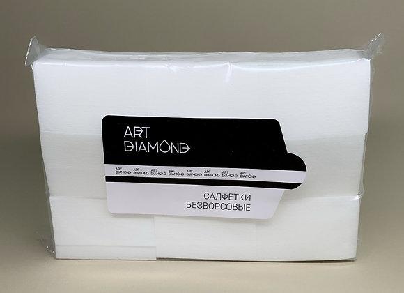 Салфетки безворсовые Art Diamod белые