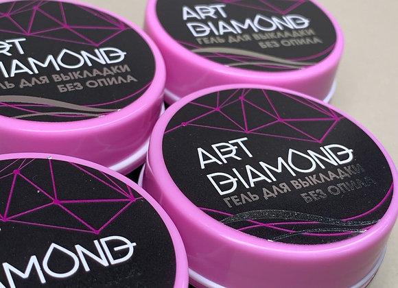 Гель для выкладки без опила Art Diamond