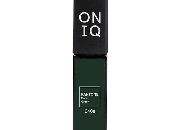 Гель-лак 040 PANTONE: Dark Green