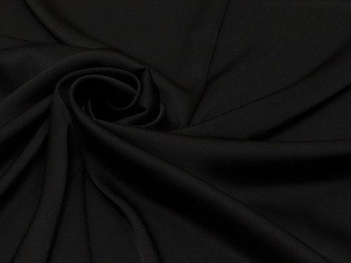 Шелк искусственный Чёрный