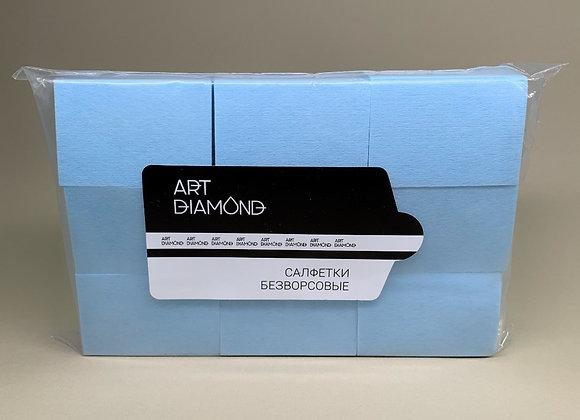Салфетки безворсовые Art Diamod синие