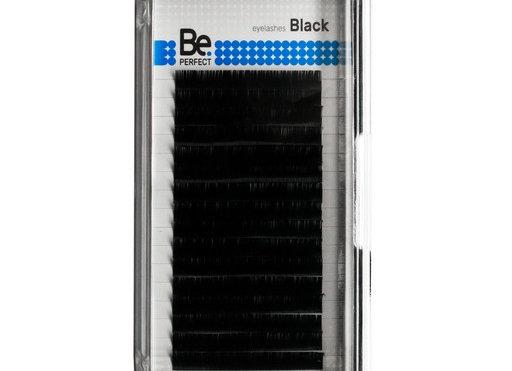 Чёрные ресницы Be Perfect Black 16 линий
