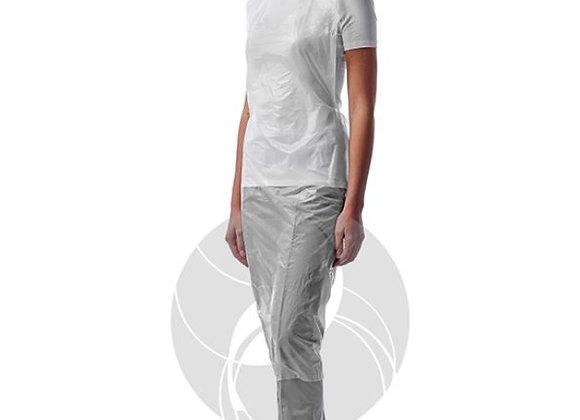 Фартуки ПНД  белые, 81х125 см