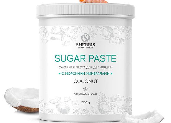 Сахарная паста «Sherris» КОКОС, 1300 гр