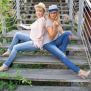 Lucia und Birgit