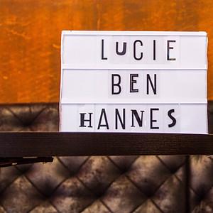 Lucie, Hannes und Ben