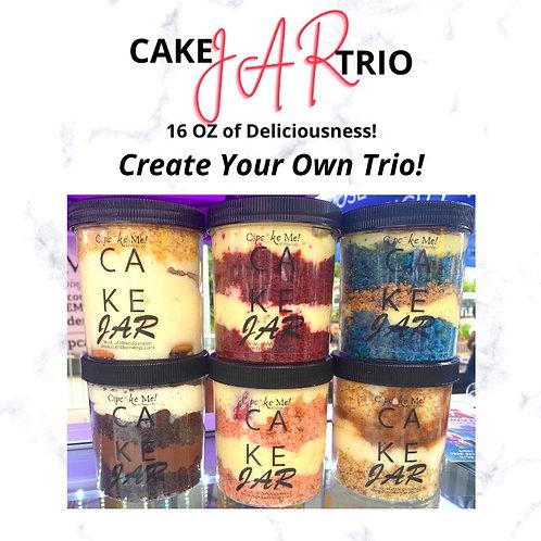 Create Your Cake Jar Trio