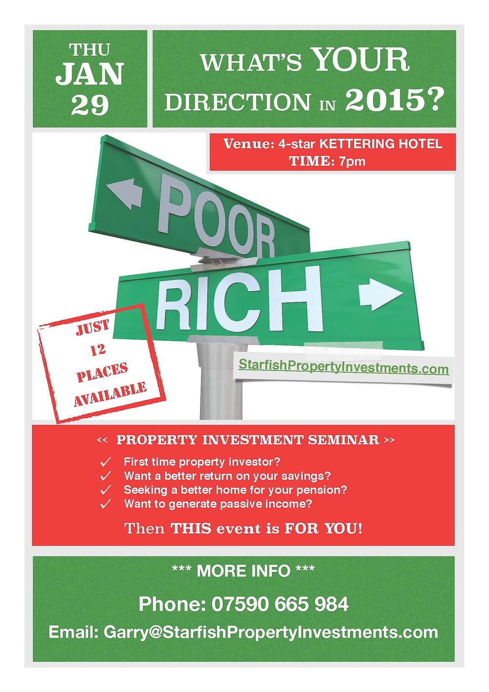 High Yielding Investment Seminar 2015