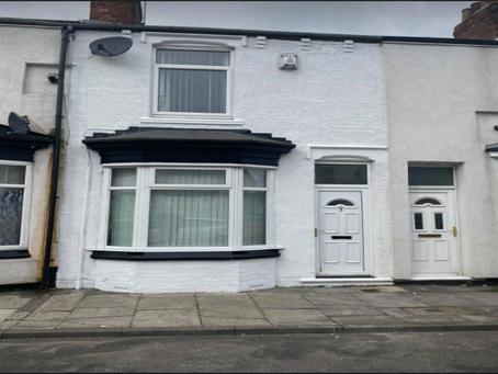 🎊【筍盤熱報】英國北部 Middlesbrough TS1 | 兩房排屋 | 最近翻新 | 九折 | £54,000 永久業權
