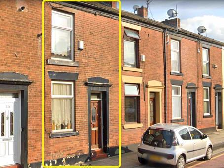 🎊【筍盤 X 暗盤熱報】Greater Manchester SK16 · 兩房排屋 · 九折 · £107,750 · 永久業權