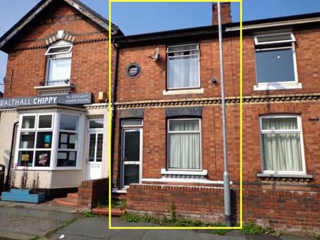 🎊【筍盤熱報】Crewe, Cheshire CW2 兩房排屋 | 八五折多 | £76,000 永久業權