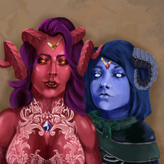 The Ruby and the Sapphire