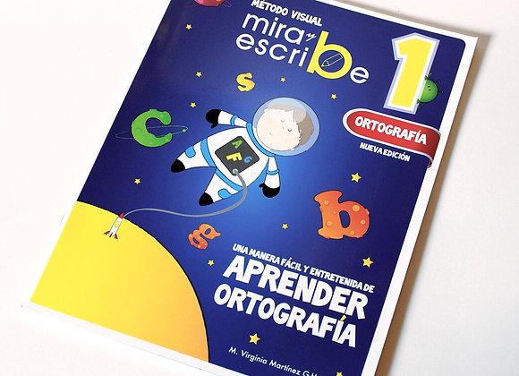 Libro Ortografía Mira y Escribe 1