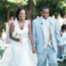 Coalesce Creations - Dallas Wedding Planning couple Mr & Mrs Brooks