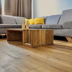Drevené dubové podlahy Saxo Realizácie