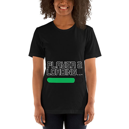 Player 2 Loading Short-Sleeve Unisex T-Shirt