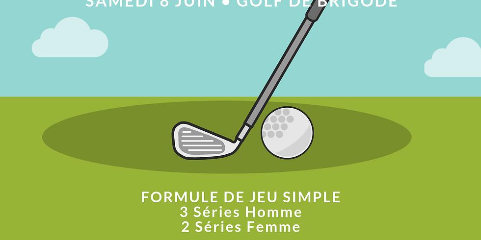 Compétition de Golf au profit de l'association