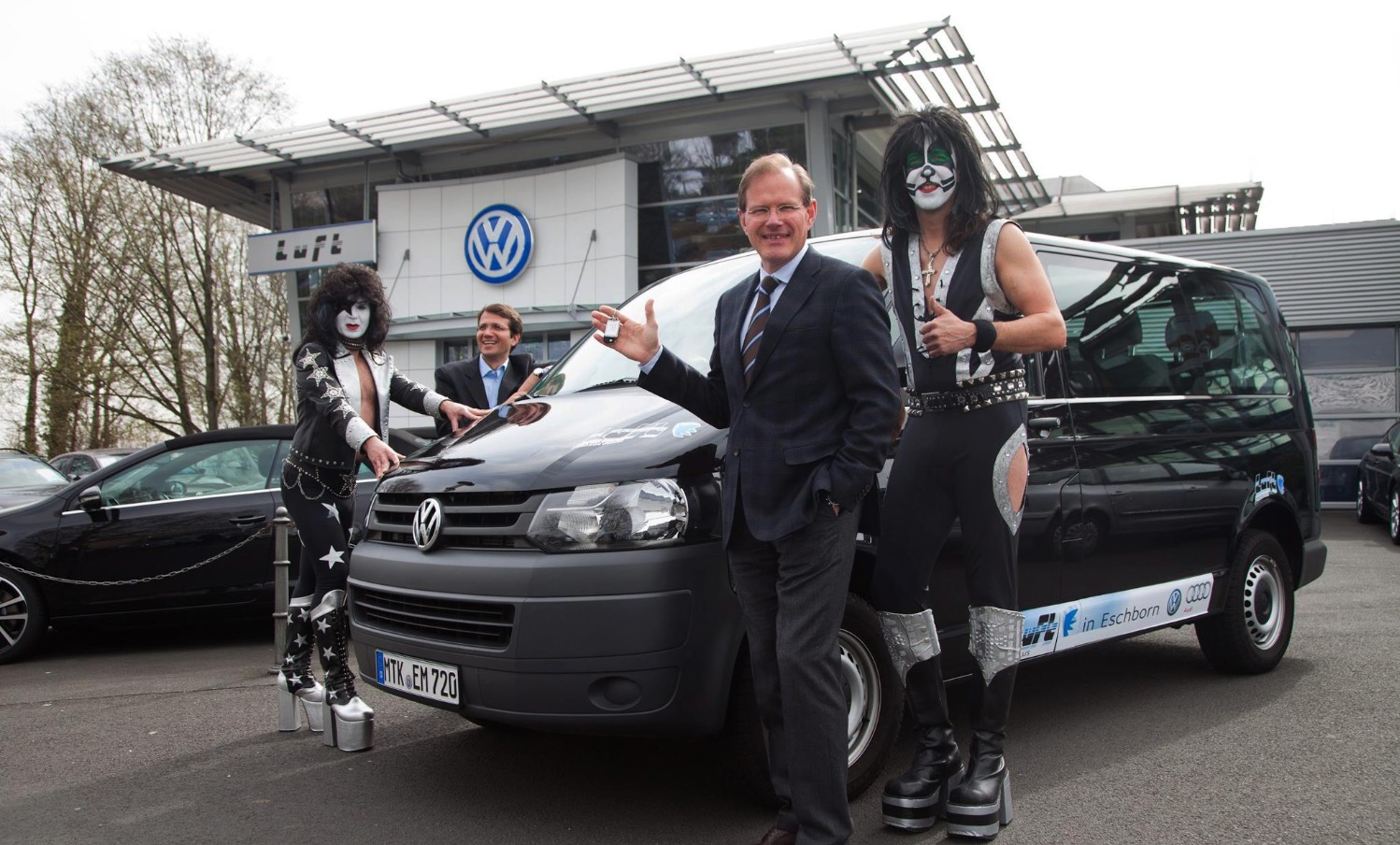 The Kiss Tribute Band & VW