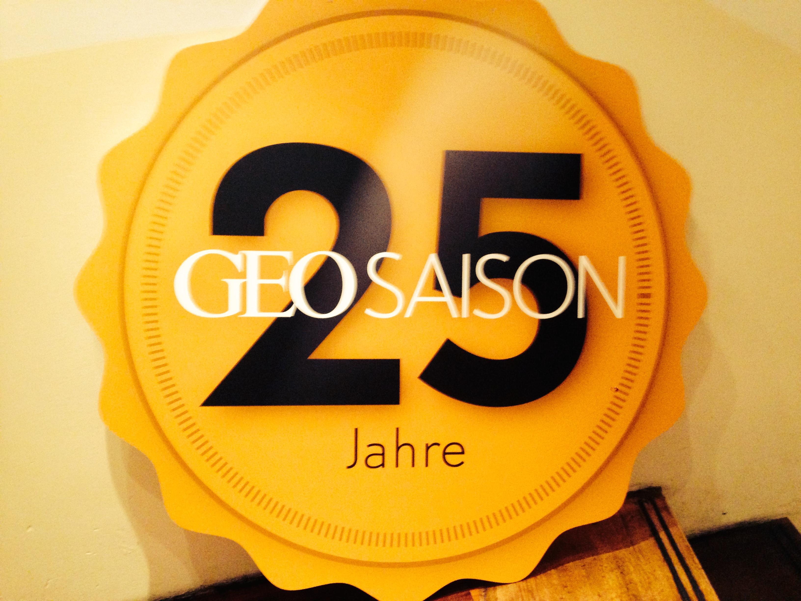 25 Jahre Geo Saison