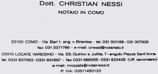 STUDIO NOTAIO NESSI