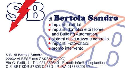 BERTOLA SANDRO
