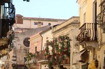 Taormina cantro - Viale principale
